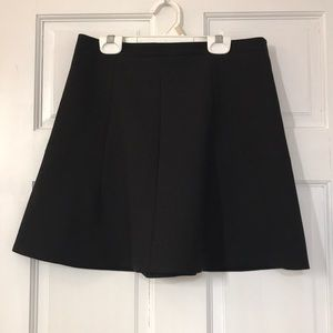J. Crew Peplum Skirt - Black